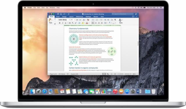 Вышел Office 2016 версии 16.0.0 для Mac