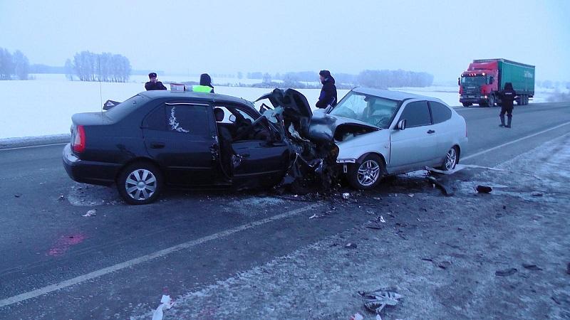 Два водителя погибли в аварии в Варгашинском районе