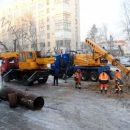 Как только трубу на улице Кирова в Кургане отремонтировали, там случилась новая авария