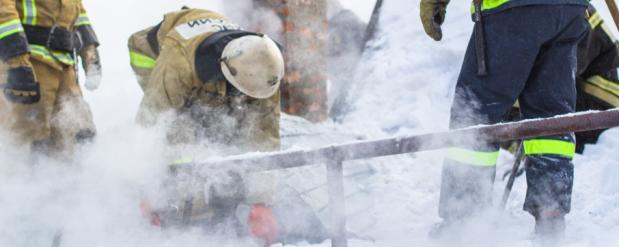 В Самаре в МЧС сообщили о пожаре около торгового центра