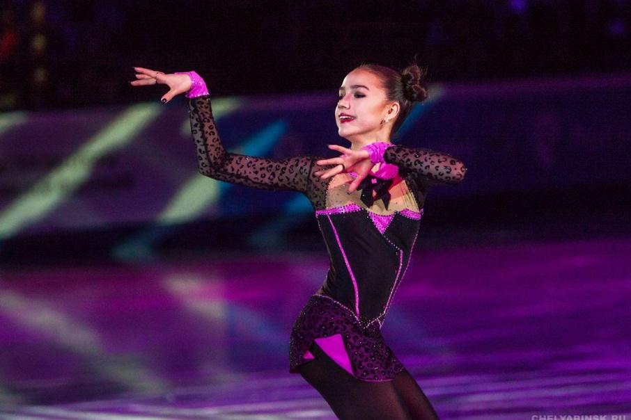 Российская фигуристка выиграла первое золото Олимпиады-2018