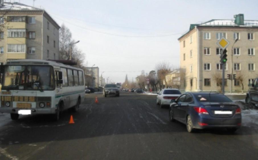В Шадринске автобус сбил пешехода
