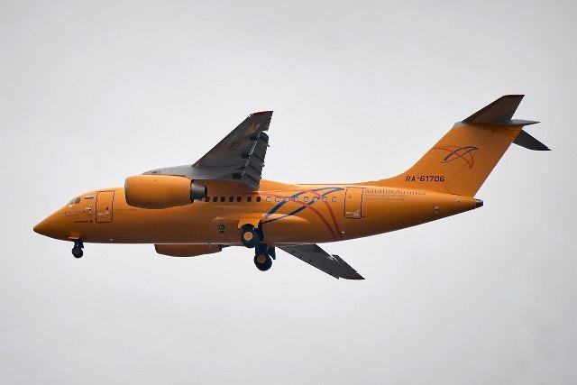 В Подмосковье разбился самолет «Саратовских авиалиний»