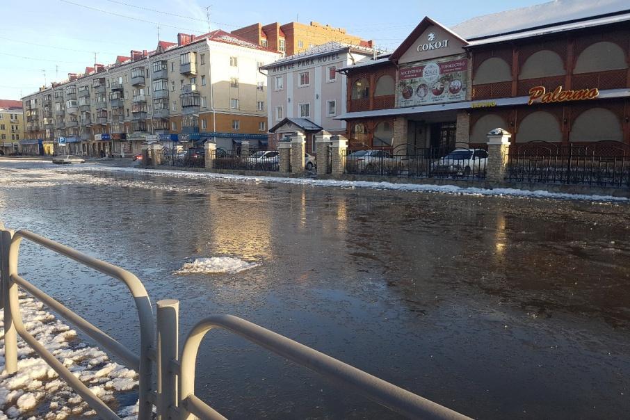 На устранение последствий январского потопа администрация Кургана потратила четверть миллиона рублей