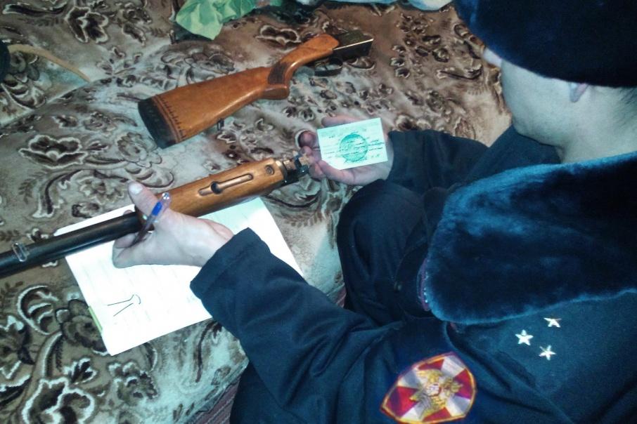 38 зауральцев неправильно хранили оружие дома