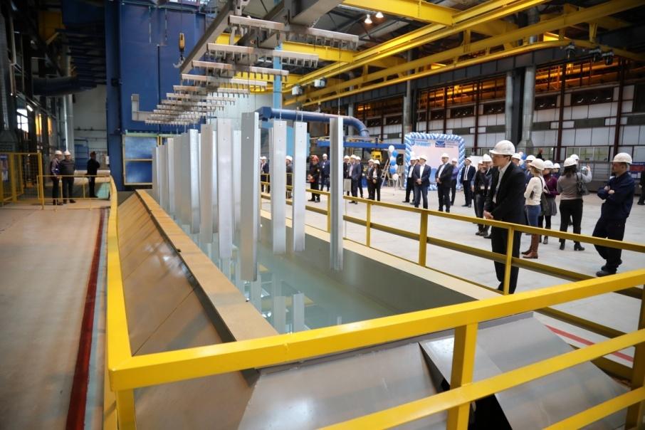 В Шадринске открыли горячий цех оцинкования металлоконструкций