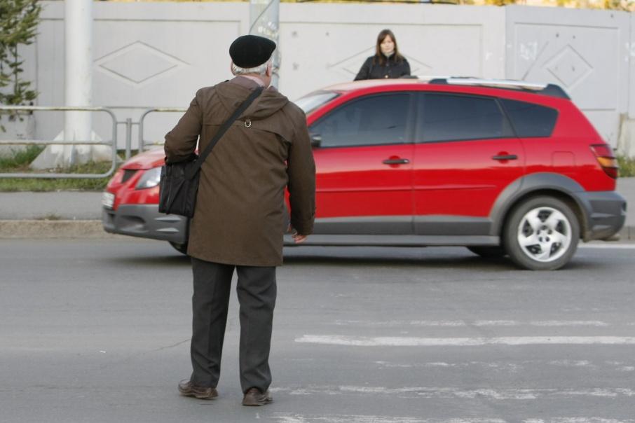 В Кургане ищут очевидцев аварии с пешеходом