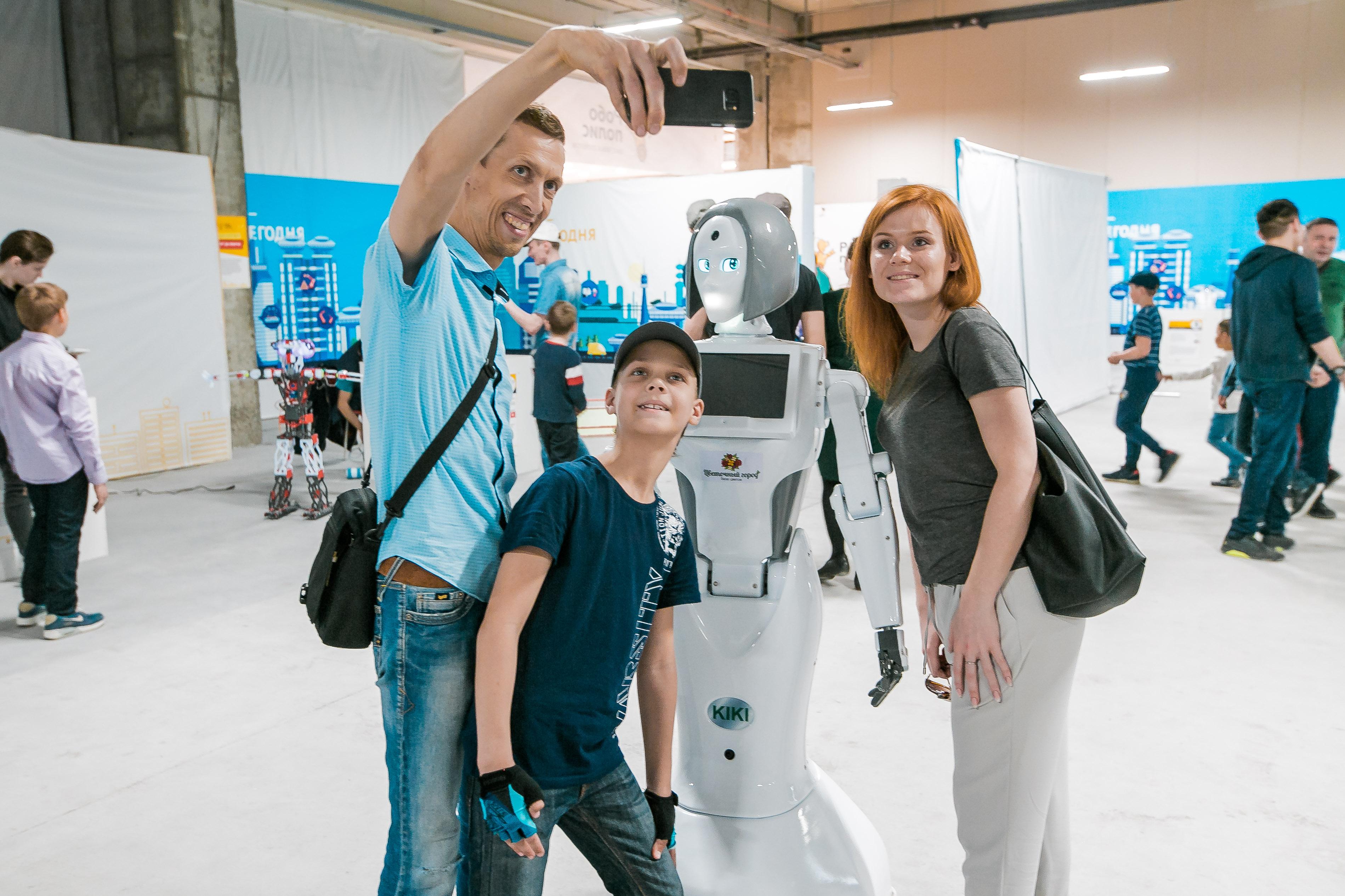 Главное событие этой весны: посещение выставки роботов в Кургане