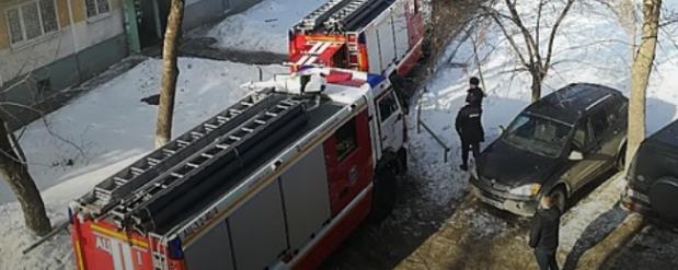 В Самаре загорелся многоквартирный дом: в квартире найден труп