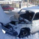 ДТП в Шадринске: цементовоз не уступил дорогу ВАЗу