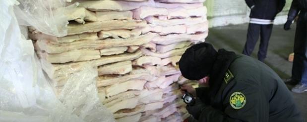 В Самарскую область пытались ввезти 16 тонн сала под видом ваты