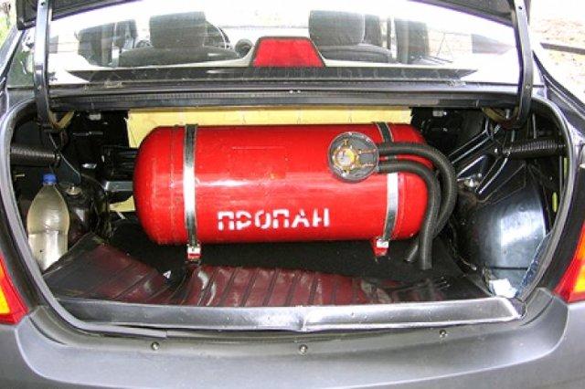Установка газобаллонного оборудования на авто