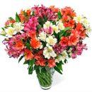 Букет цветов – приятное дополнение к любому подарку