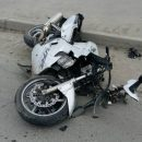 В Кургане сбили мотоциклиста