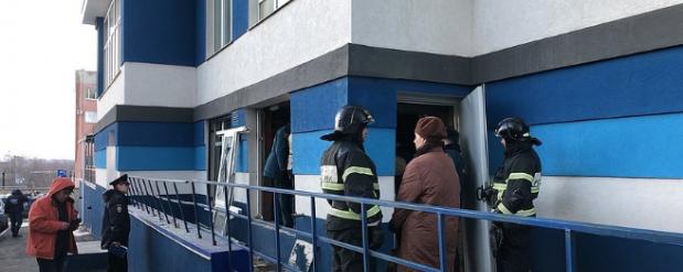 В элитной высотке на Ново-Садовой прогремел взрыв