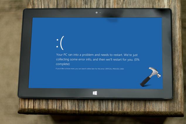 Пользователи жалуются на синий экран смерти в Windows 10 April 2018 Update