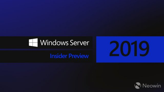 Доступна Windows Server 2019 Build 17666