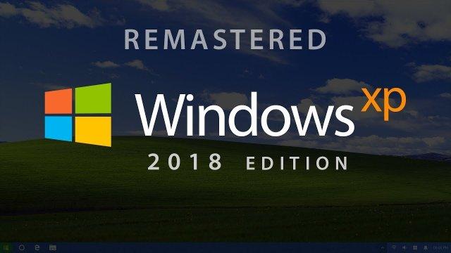 Если бы Windows XP вышла в 2018 году