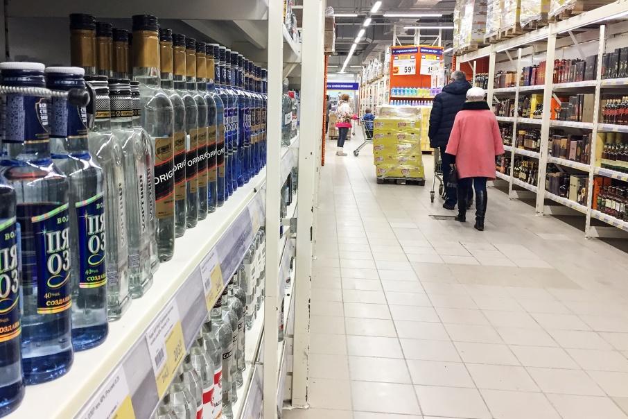 Алкоголь на колесах: зауральская полиция преградила дорогу 600 бутылкам спиртного