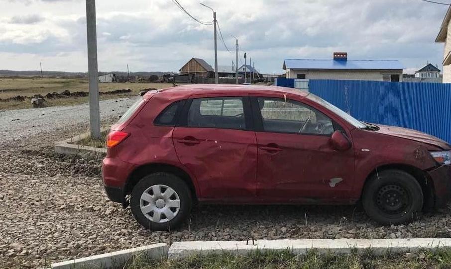 В Шатровском районе погибла водитель без прав