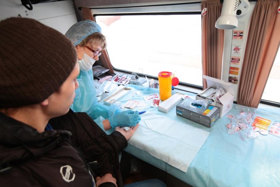Курганцы смогут пройти экспресс-тестирование на ВИЧ