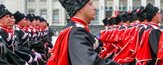 На ЧМ-2018 будут официально задействованы на охране казачьи патрули