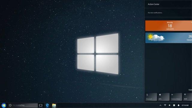 Если бы Windows 7 вышла в 2018 году