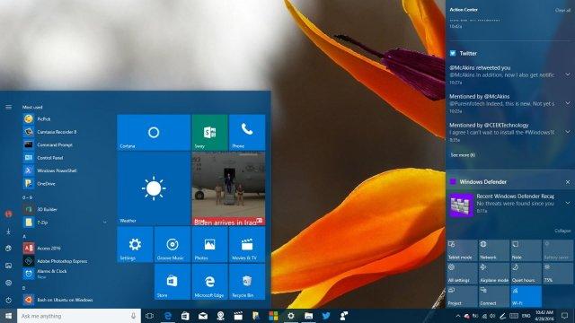 В Slow Ring доступна сборка Windows 10 Build 17692