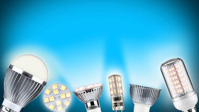 Светодиодные лампы с гарантией на 1 год