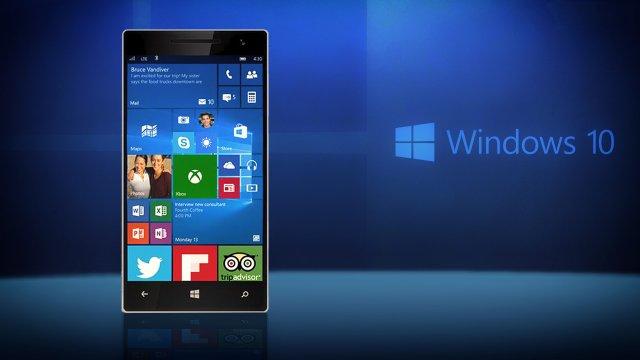 Microsoft рекомендует обновить мобильную Windows 10 до настольной
