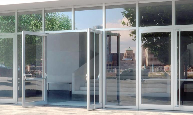 Алюминиевые двери Reynaers