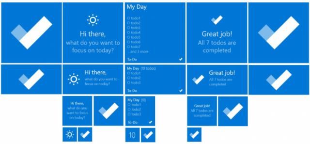 Поддержку живых плиток получил Microsoft To-Do