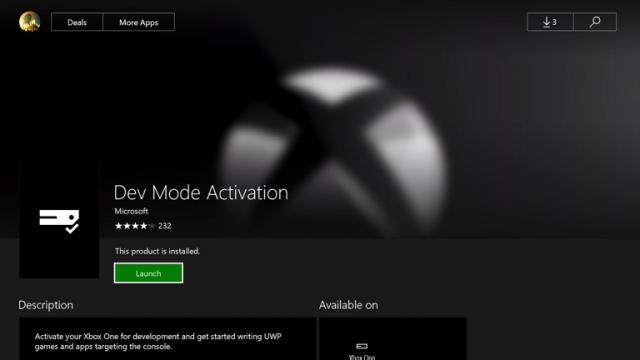 Обнаружен способ запуска Win32-приложений на Xbox One