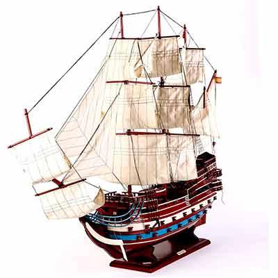 Где можно заказать модель корабля