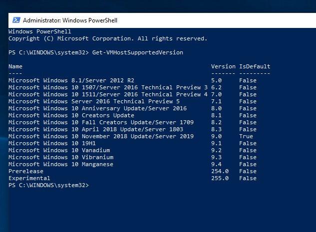 Windows 10 November 2018 Update?