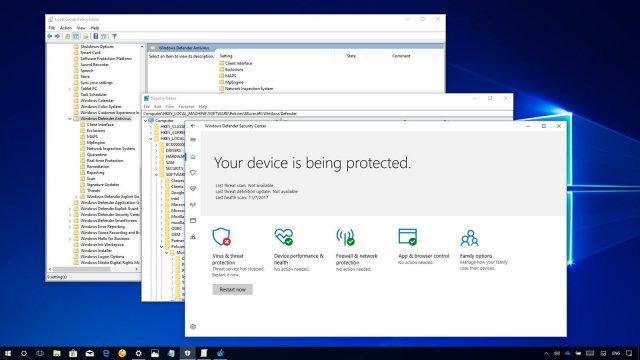 В Защитнике Windows появилась песочница