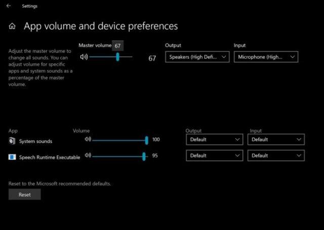 Microsoft удалит устаревший микшер громкости в Windows 10