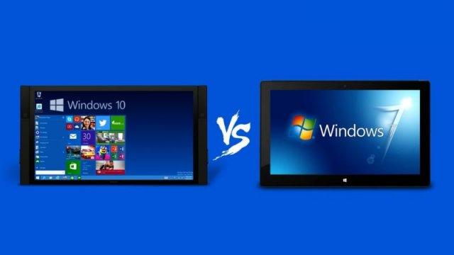 Windows 7 против Windows 10: Почему старая любовь не проходит