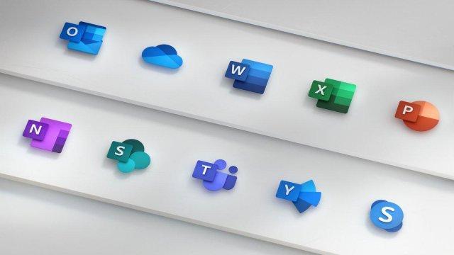 Microsoft представила новые иконки для пакета Office