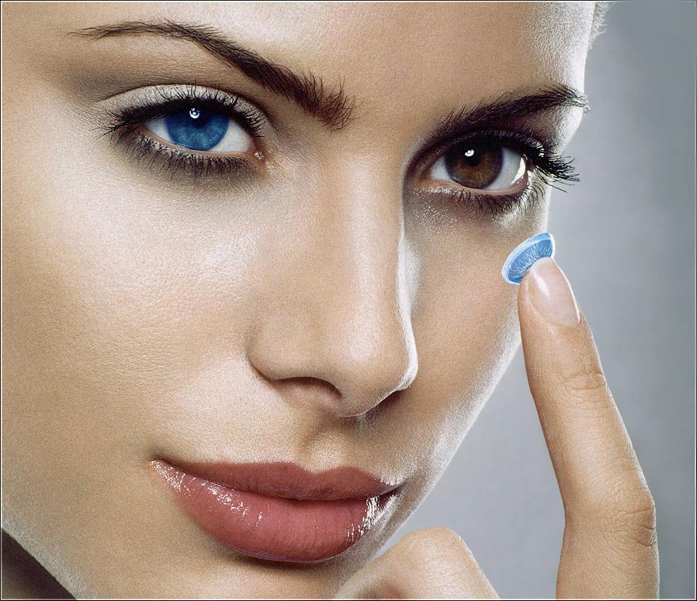 Большой выбор очков и цветных контактных линз на любой вкус