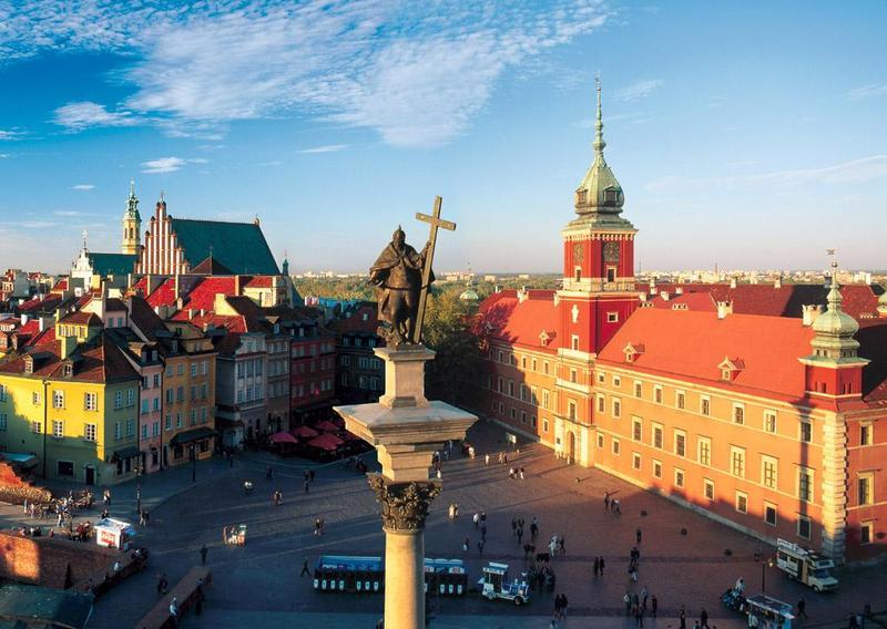Дешевые авиабилеты в Варшаву