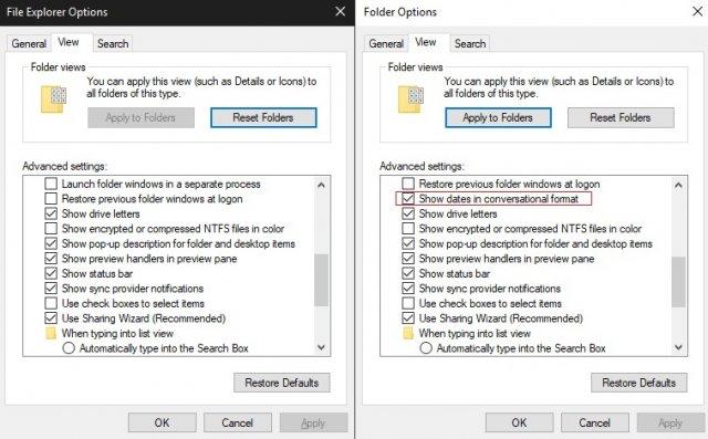Windows 10 Build 18290 имеет небольшое изменение для Проводника