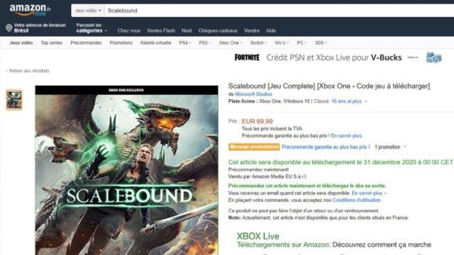 Слух: Возобновилась разработка Scalebound
