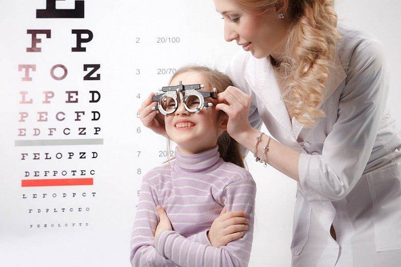 Детский офтальмолог в Киеве