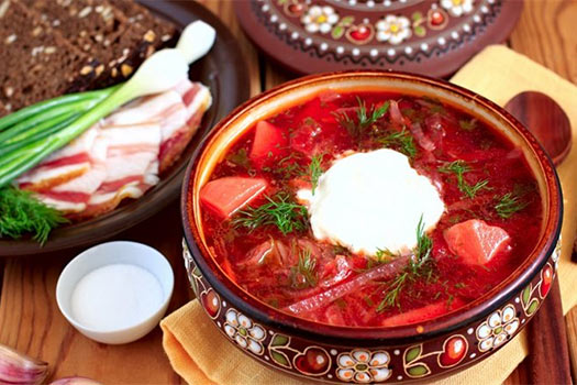 Современный ресторан украинской кухни