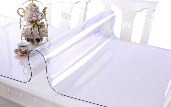 Мягкое стекло для защиты мебели от повреждений